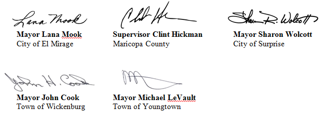 West Valley Partners signatures